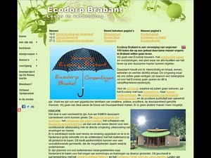Website Ecodorp Brabant